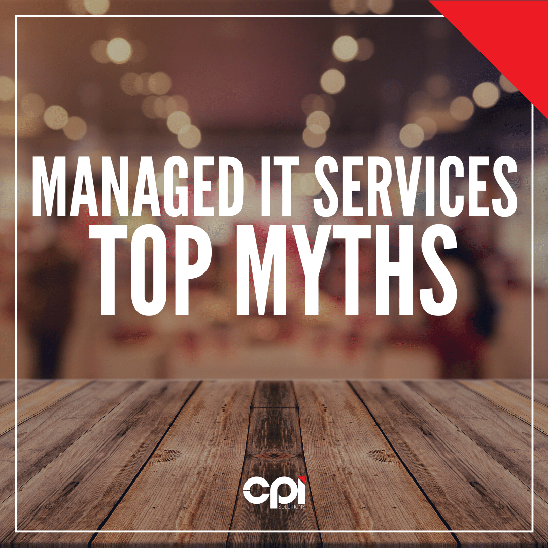 Top Myths surrounding Managed IT Services