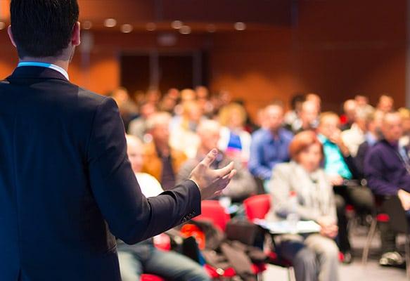 Presentation in Custom Conference Room