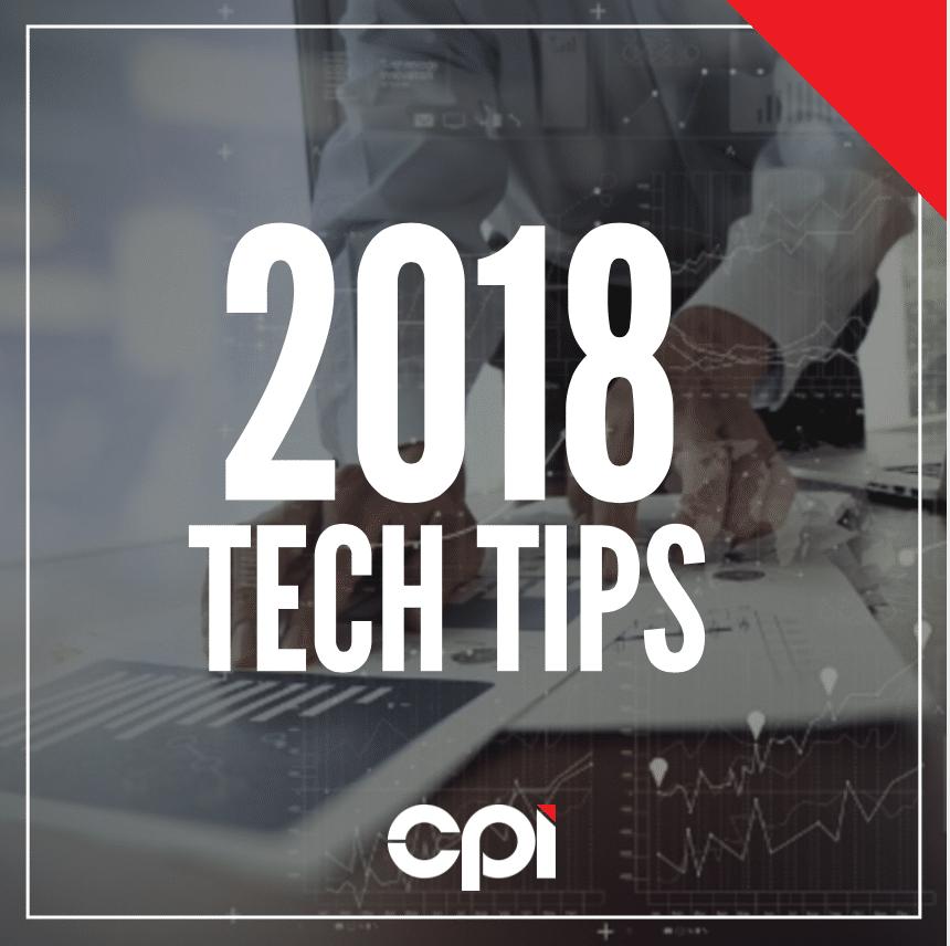 Tech Tips 2018