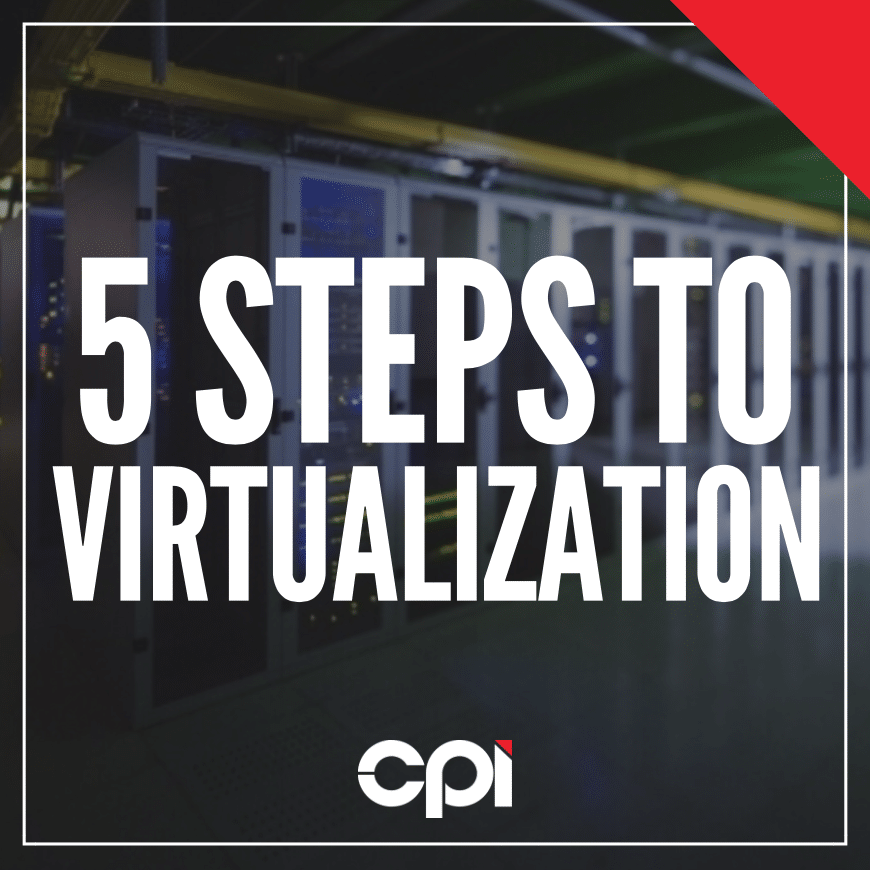5 Steps to Server Virtualization