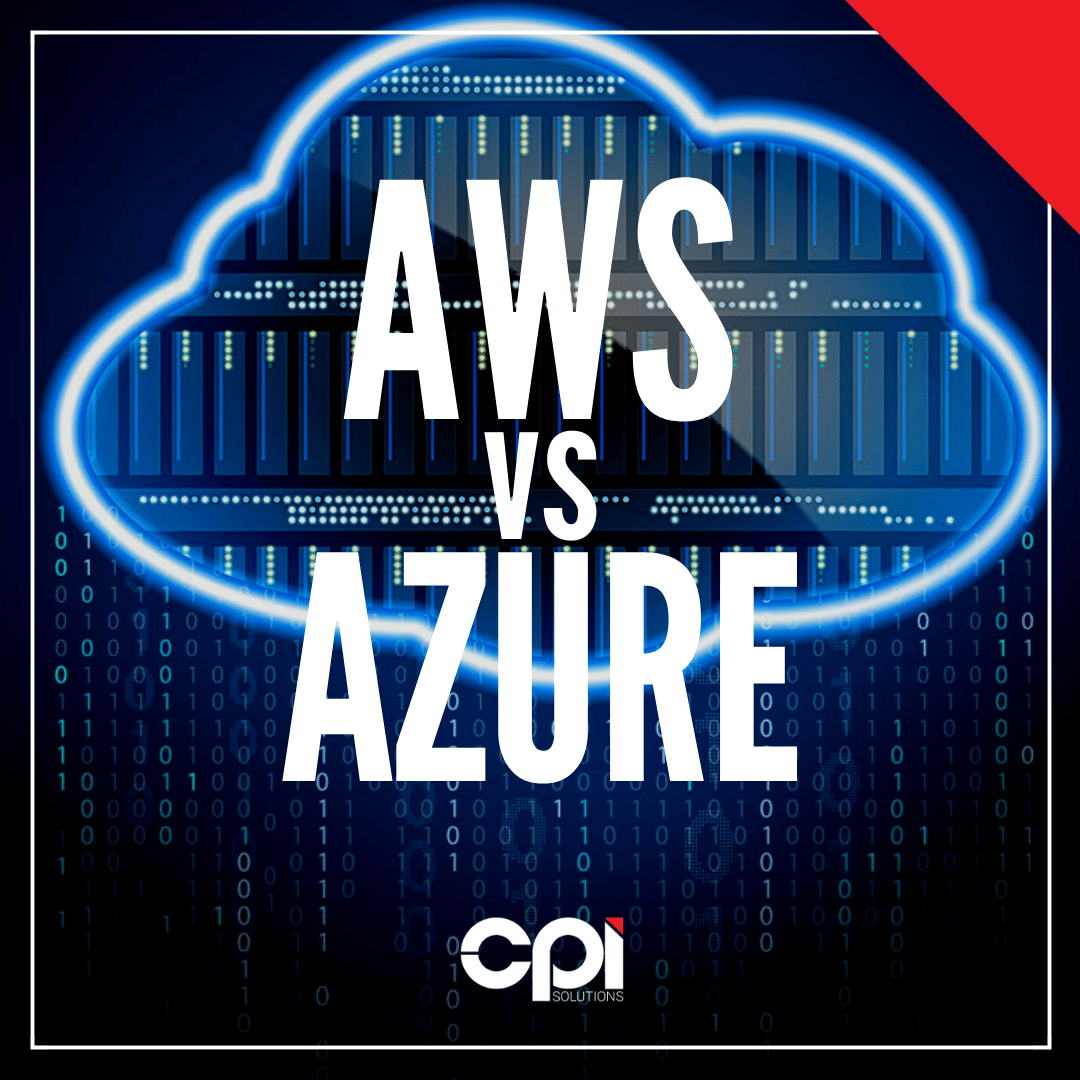 AWS vs Azure in cloud service solutions