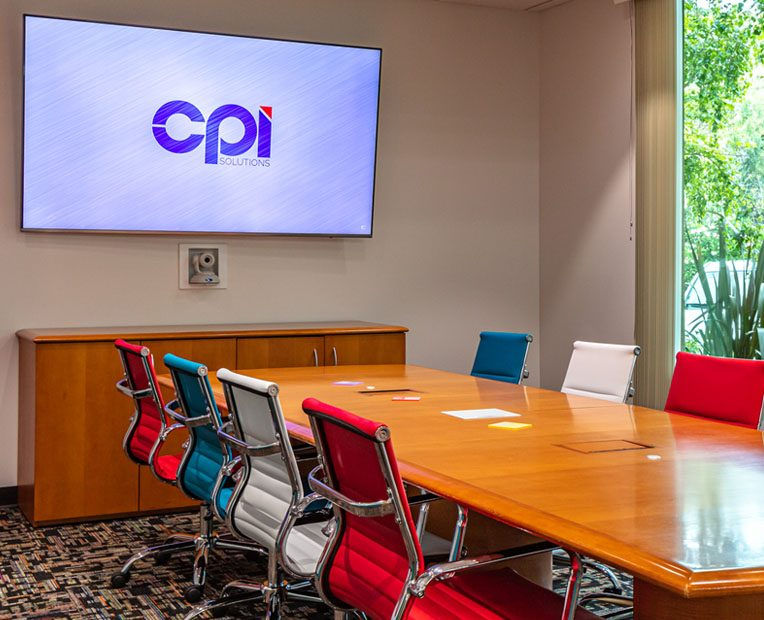 Custom Conference Room completed by CPI Audio Visual Solutions team