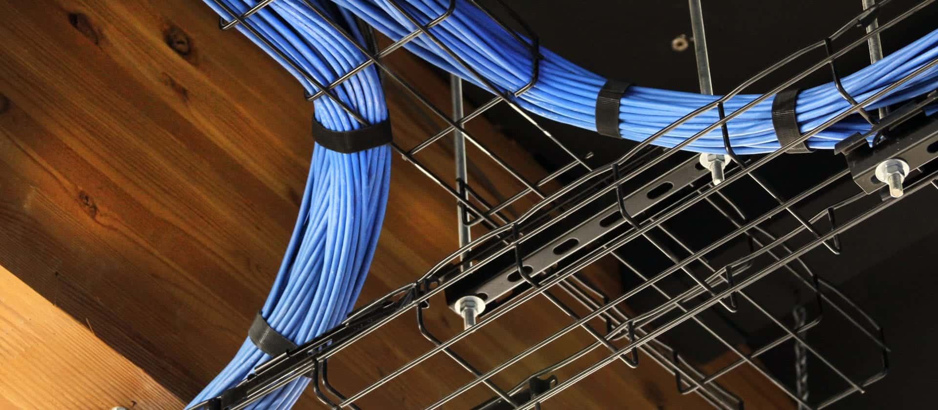 Network cabling services including distributed antenna systems, infrastructure design and low-voltage cabling.