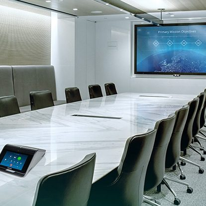 Crestron conference room