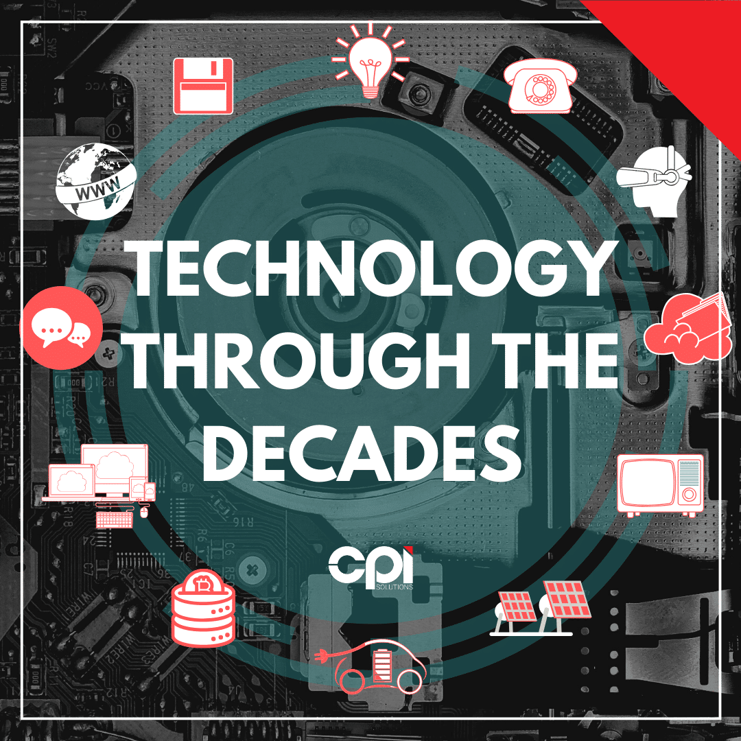 Technology through the decades