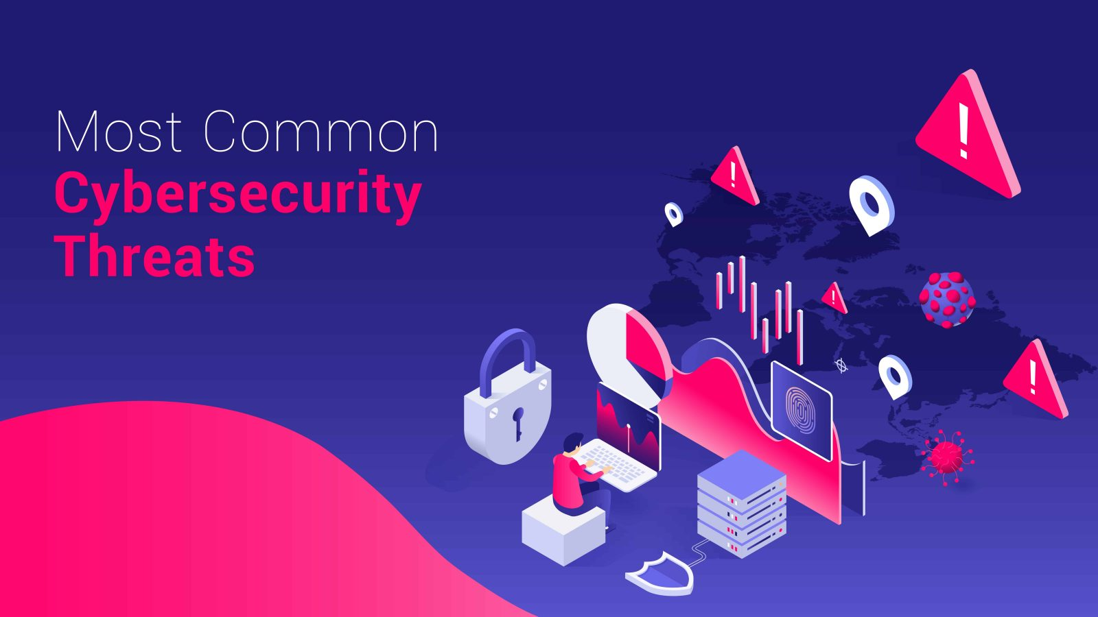 Most common cybersecurity threats