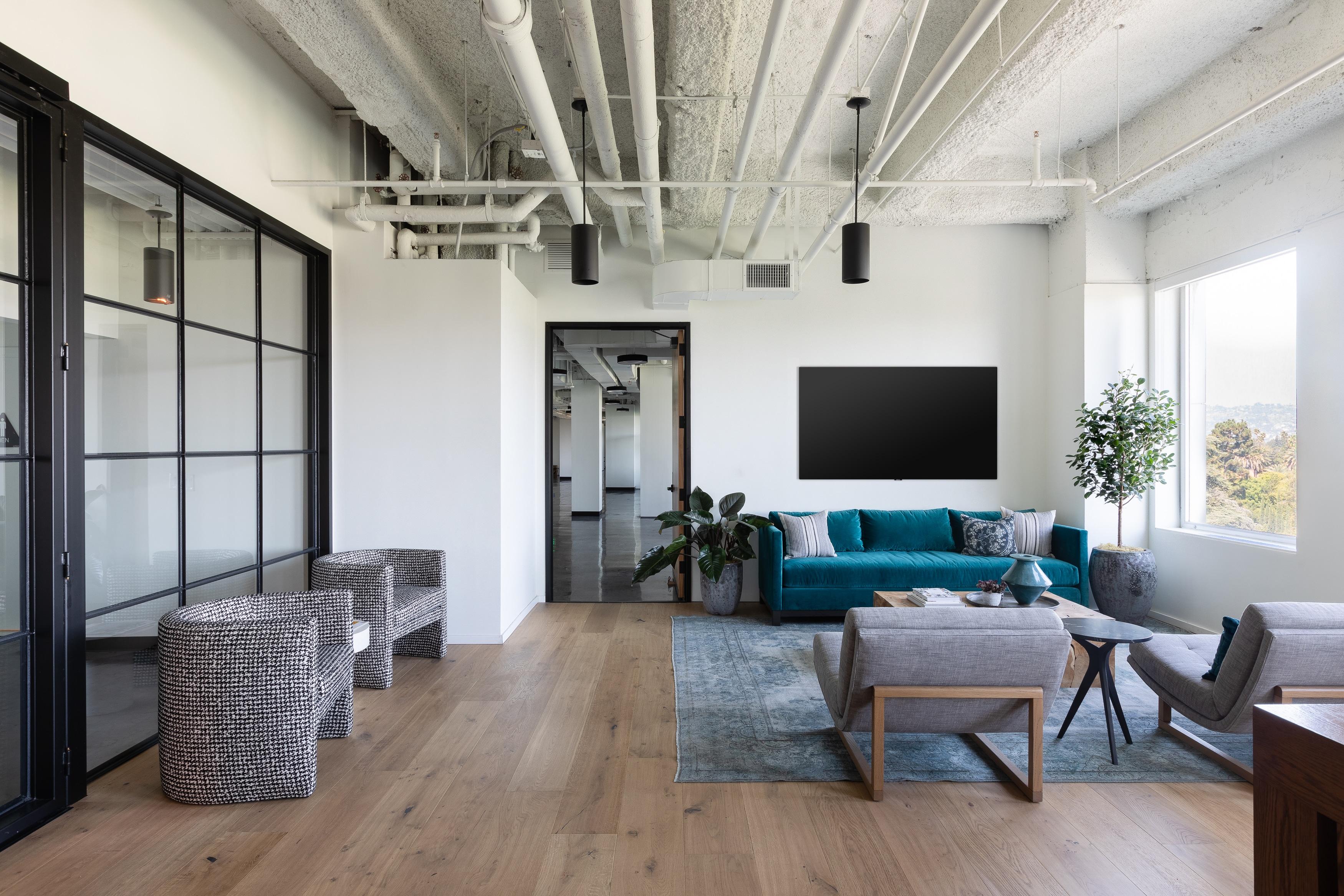 Reception area_custom meeting room automation