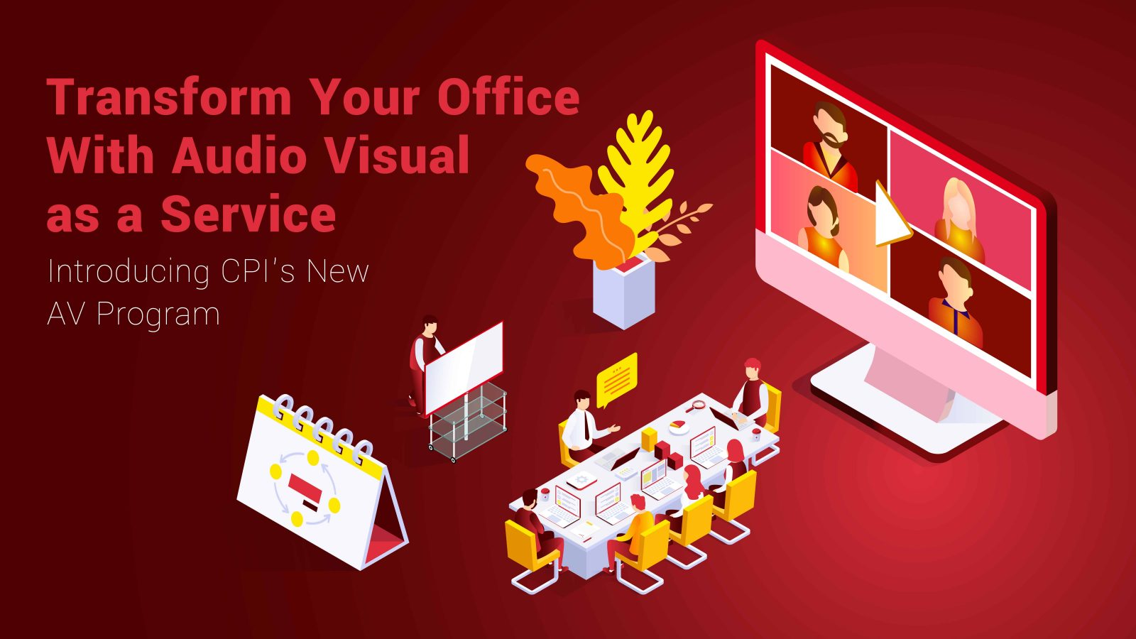 Audio Visual as a Service